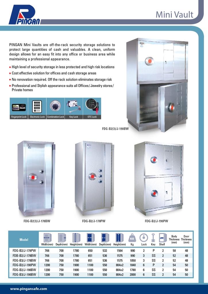 high security cash safe mini vault-K1 confirmed