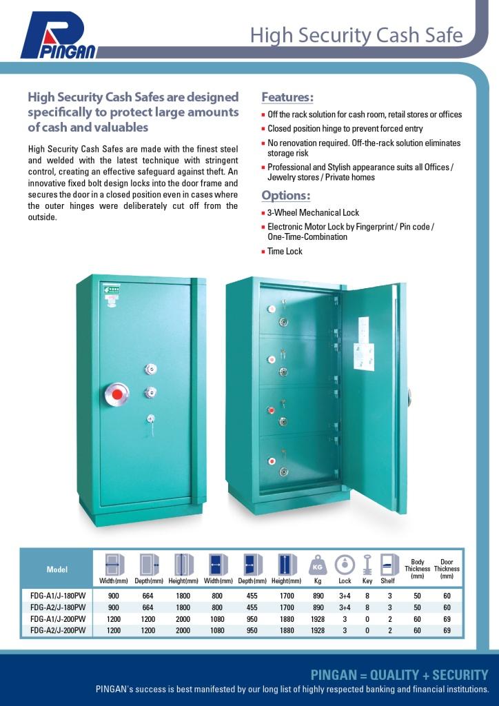 high security cash safe mini vault-K2 confirmed